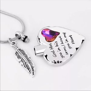 Cremation Necklace For Your Loved Ones Ashes